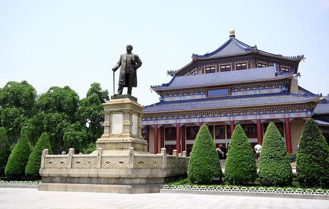 Khám phá quy mô đồ sộ của Nhà tưởng niệm Tôn Trung Sơn