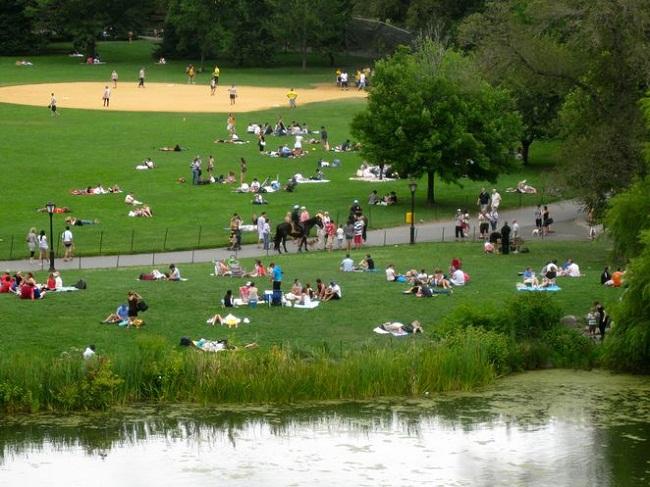 Những công viên xanh ở New York