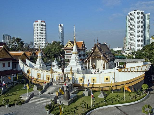 Những ngôi chùa nổi tiếng của Thái Lan