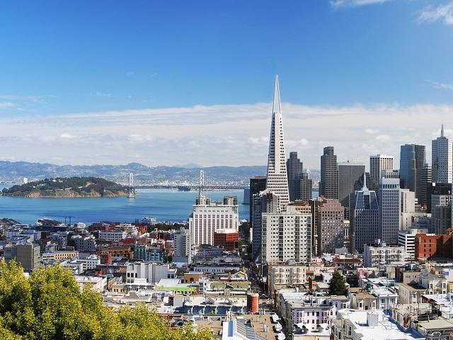 Một ngày ở thành phố sương mù San Francisco