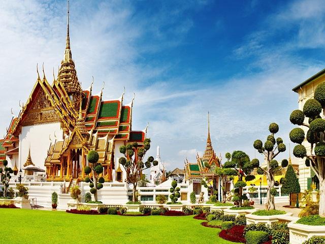 Chiêm ngưỡng vẻ đẹp của các cung điện ở Bangkok