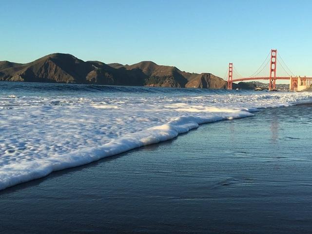 Tuyệt đẹp những bãi biển ở San Francisco