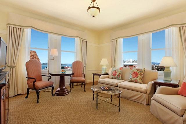 Các khách sạn có tầm nhìn đẹp nhất San Francisco