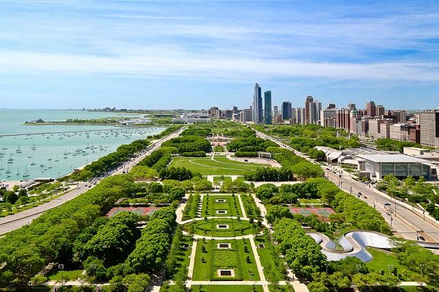 Top 4 công viên được yêu thích nhất tại Chicago