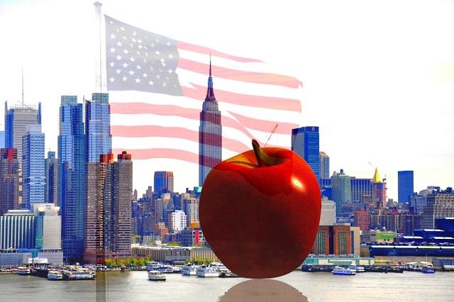 """Lý giải biệt danh """"quả táo lớn"""" của thành phố New York"""