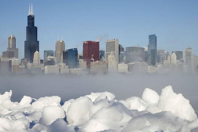 Bật mí những địa danh đẹp như tranh vẽ vào mùa đông ở Chicago