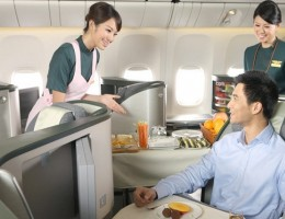 EVA Air ra mắt hạng bay Hoàng Gia (Royal Laurel Class)