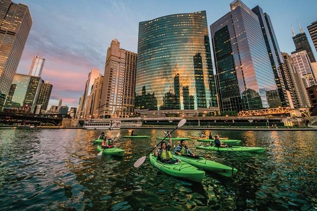 Những hoạt động giải trí tuyệt vời vào mùa hè ở Chicago