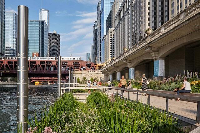 10 trải nghiệm du lịch tuyệt vời ở Chicago Riverwalk
